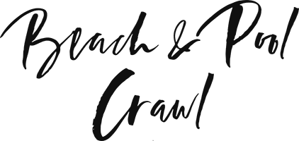 Beach & Pool Crawl Logo
